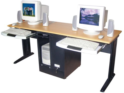 Ordinaire Computer Desk For Two People U2013 Best Side By Side