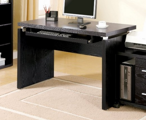 Coaster Home Furnishings Peel Black Computer Desk