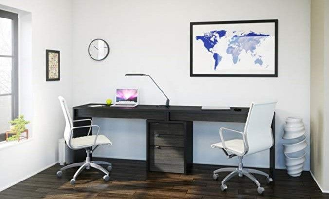 Charmant Desk For Two People U2013 #1 Pick For Home Office: Nexera Sereni T