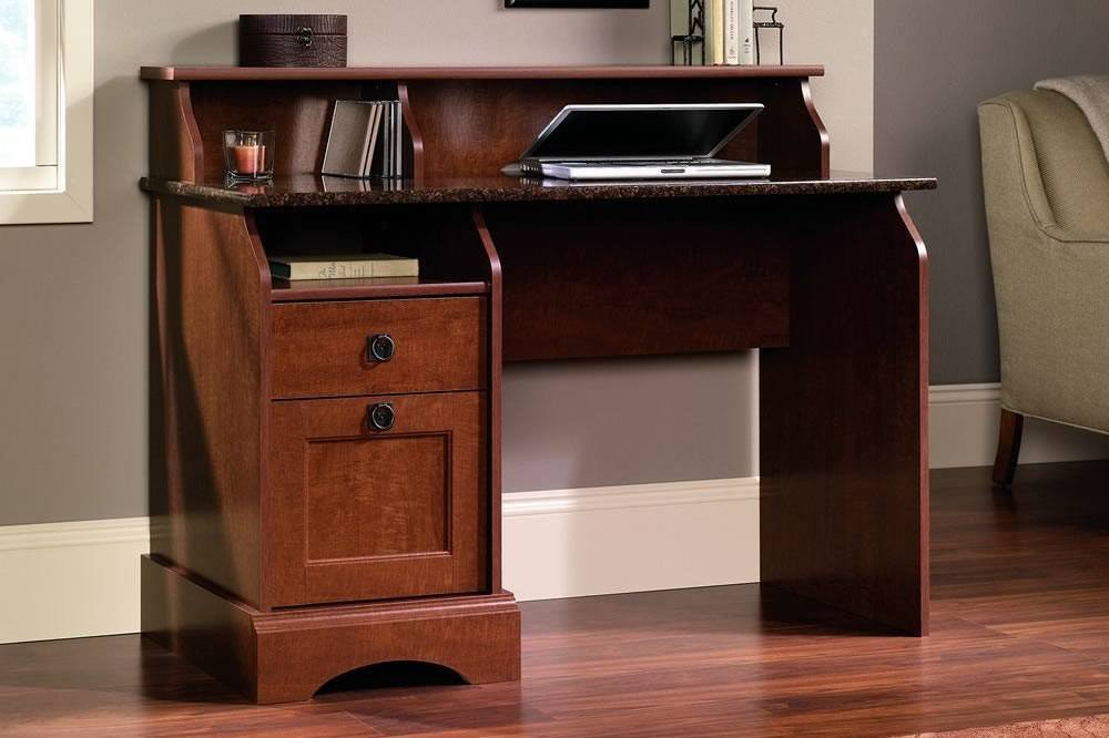 Sauder Graham Hill Desk Autum Maple Finish